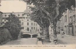 39 - LONS LE SAUNIER - Quai Thurel Et Hôtel Des Postes - Lons Le Saunier