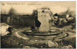Ruines Du Fort De Loncin, Obusier De 21cm Retourné (pk27927) - Liege