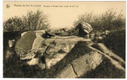 Ruines Du Fort De Loncin, Coupole à Eclipse Pour Canon De 5,7cm (pk27928) - Liege