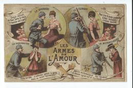 MILITARIA Humoristique - Le Langage Des Yeux - Fantaisie Multivues - Humoristiques