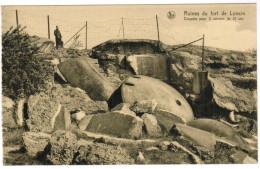 Ruines Du Fort De Loncin, Coupole Pour 2 Canons De 12cm (pk27929) - Liege