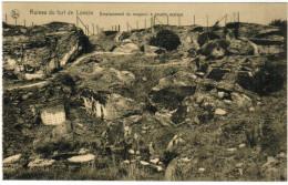 Ruines Du Fort De Loncin, Emplacement Du Magasin à Poudre Explosé (pk27931) - Liege