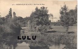 DEPT 91 : Mereville, Un Coin Du Parc - Mereville