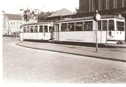 Photo Originale-Foto-Tram Strassenbahn Tramway-Linie-8-Bochum-Gelsenkirchen-Strassenbahnen-Pub. Juno-Schlegel-A.6 337 - Eisenbahnen
