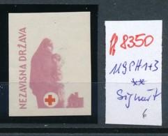 Kroatien-Besonderheit Nr. 119   PH 1+3   ** Signiert  (ff8350 ) Siehe Scan - Croatia