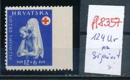 Kroatien-Besonderheit Nr. 124 Ur     ** Signiert  (ff8357 ) Siehe Scan - Croatia