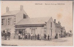 ORVILLE ( PRES VALENCAY ) : EPICERIE AUBERGE MEUNIER POPINEAU - *2 SCANS* - - Francia