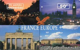 CARTE PREPAYEE  ATELECOM  *50F/75Unités  France Europe - France
