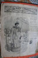 DIM 24 Juil 1892 Les MODES EN FAMILLE & COULEURS REUNIES GRAVURE´S LOISIRS CREATIFS-MODE-FASHION-HABITS-COUTURE-MODELES - Other