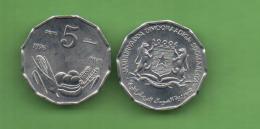 SOMALIA - 5 SENTI 1976 FAO  KM24 - Somalia