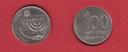 Israel  --   100 Sheqalim --  Km # 143  --  état  TTB - Israel