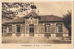 CHAMBOURCY (78) Façades Des Ecoles - Chambourcy