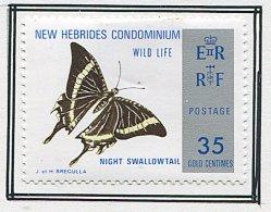 (cl.37 - P.15) Nelles Hébrides * N° 383 - Papillon - - Vlinders