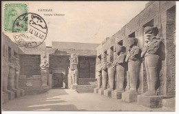 LOUXOR  - KARNAK :  Temple D'Ammon  - 1911 - Louxor