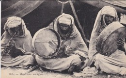 ALGERIE---musiciens Aveugles---voir 2 Scans - Métiers