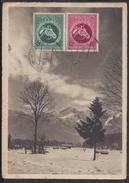 ALLEMAGNE - 1944 - Correspondance De BERLIN-MARZAHN Vers BERLIN WILMERSDORF Sur Carte Postale . - Allemagne