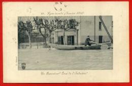LYON INONDE' - 1910 - Lyon