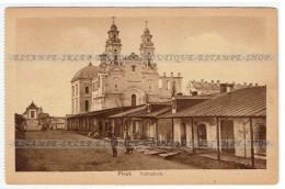 Pinsk  [Belarus] Postcard Kathedrale (216) - Belarus