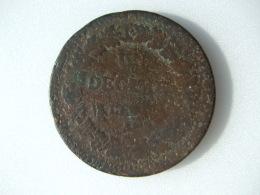 POCH3 -  UN DECIME L'AN ??      A - 1789-1795 Monnaies Constitutionnelles