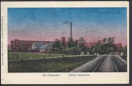 ALLEMAGNE - 1948 - Correspondance De CHEMNITZ Sur Carte Postale  ALT-CHEMNITZ.   AKTIEN-SPINNEREI. - Zone Soviétique