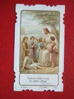 IMAGES PIEUSE - LAISSEZ VENIR À MOI LES PETITS ENFANTS - H. MARIN - - Images Religieuses