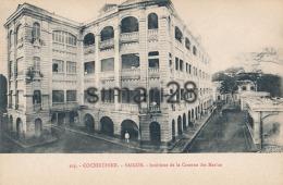COCHINCHINE - N° 103 - SAIGON - INTERIEUR DE LA CASERNE DES MARINS - Vietnam