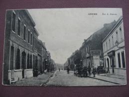 CPA 59 ANICHE Rue A.Patoux  1917  ANIMATION & PUB Vetements BUGNOT & Chaussures VITRANT BAZAN - Andere Gemeenten