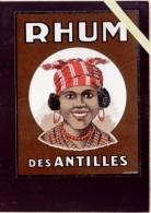Etiquette - Rhum Des Antilles - L.Ruel Poitiers - Old Paper