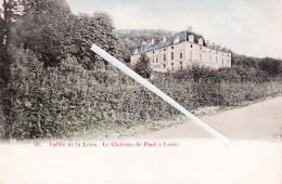 Vallée De La Lesse - Le Château De Pont à Lesse -  Superbe Carte Colorée Et Circulée 1905 - België
