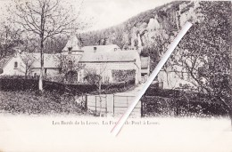 Les Bords De La Lesse - La Ferme De Pont à Lesse -  Superbe Carte Circulée 1905 - België