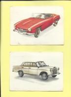 Chocolat Jacques Autos 1962 Dans Le Marche Commun N° 47 - 49 Mercedes - Jacques