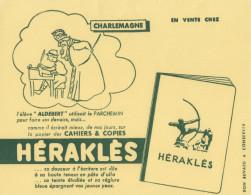 Buvard Cahiers Héraklès - Charlemagne - Papeterie