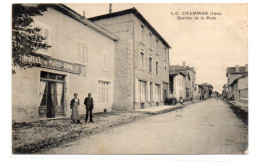 Isère : Champier : Hôtel De Paris Bonvallet - Autres Communes