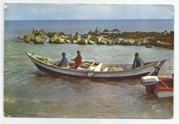 Aude - 11 - Gruissan Plage Départ Pour La Peche Bateau Barque Colbert 1966 11x 16 , 4 C - Sonstige Gemeinden