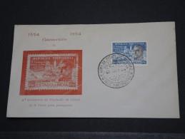 INDES PORTUGUAISES - Env Commémorative - 1954  - A Voir - Lot P17726 - Inde Portugaise