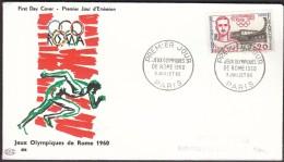 France Paris 1960 / Olympic Games Rome 1960 / Alexandre François Étienne Jean Bouin, Olympic Medalist 1908, 1912 - Ete 1960: Rome