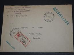 POLOGNE - Env Recommandée De L'administration Des PTT Pour Paris - A Voir - Lot P17729 - 1944-.... Republic