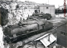 TARRAGONA TRAIN LOCOMOTIVE TREN LOCOMOTORA ESTACIÓN PHOTO GUY LAFORGERIE TRENO LOCOMOTIVA ZUG ESPANA - Trenes