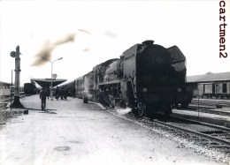 ARGENTAN LA GARE TRAIN LOCOMOTIVE PHOTO GUY LAFORGERIE TRENO LOKOMOTIVE ZUG 61 ORNE - Argentan