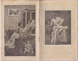 CATALOGUE PUBLICITAIRE CALENDRIER 1906 - PHARMACIE PILULES PINK - ATTELAGE A CHIEN - MEDECINE - DESSINS GEORGES GRELLET - Calendriers