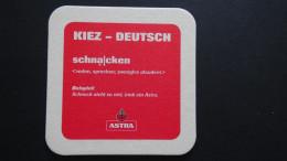 Germany - Holsten-Brauerei/ ASTRA - Kiez-Deutsch-schnacken - Hamburg - Sous-bocks