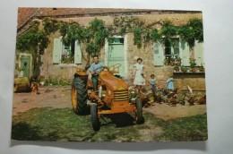 Tracteur Renault - Agriculture - Ferme - Mr Martineau - Publicité - Unclassified
