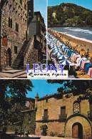 CPM   D´ ESPAGNE - ZARAUZ TIPICO  - TOUR LUCEA - PALAIS De NARROS Et PLAGE  N° 187 - Autres