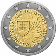 2 EURO COMMEMORATIVE SLOVACCHIA SLOVAQUIE SLOVAK 2016 PRESIDENZA PRESIDENCE - Slovaquie