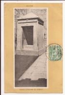 EDFOU - Trés Ancienne Carte De L Entrée Du Temple - Edfou