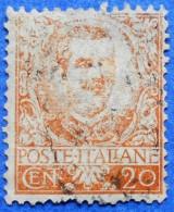 ITALY ITALIA 20 Cmi.1901 VITTORIO EMANUELE III Mic.78  - USED - Gebraucht