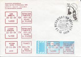 Machine à Affranchir, Caen 9-10 Nov 1985 - France