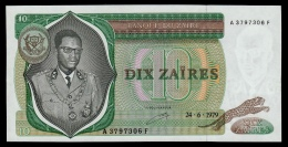 Zaire 10 Zaires 1979 UNC - Zaïre