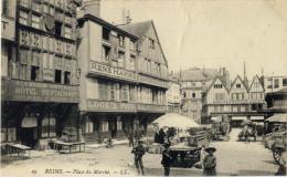 51 REIMS PLACE DU MARCHES 29 RENE HAMME RESTAURATEUR - Reims