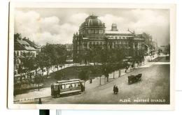 Czechoslovakia. Plzen. Tramway. - Strassenbahnen